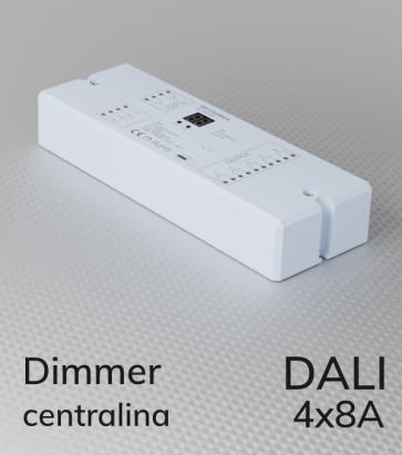 Centralina DALI 4 Canali x 8A