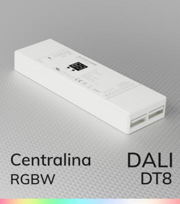 Centralina DALI DT8 RGBW - 4 Canali x 5A