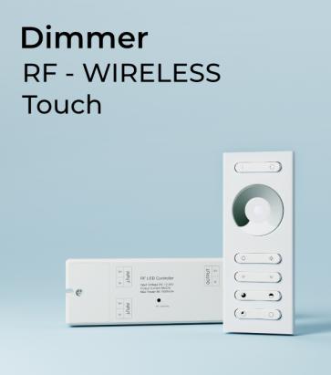 Dimmer Touch con Telecomando + Centralina 10A