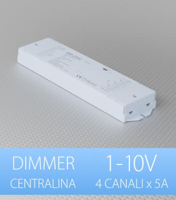 Centralina Ricevente 4 Canali x 5A - 1-10V