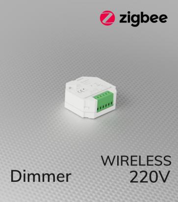 Dimmer ZigBee 220V AC - Wireless e Push-Button