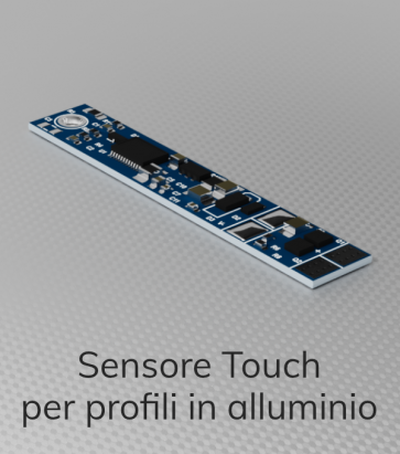 Dimmer Touch per Strisce LED - Tocco del Profilo in Alluminio