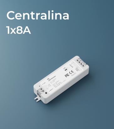 Centralina 1 canale x 8A - RF e Push Button