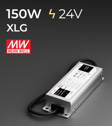 Alimentatore Meanwell XLG-150-24 24V 150W Resistente All'acqua