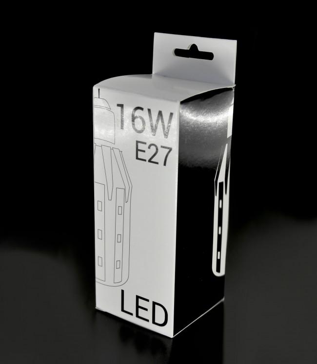 lampadina led e27 smd2835 16w 150w bianco freddo. Black Bedroom Furniture Sets. Home Design Ideas