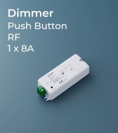 Centralina Ricevente 1 Canale x 8A - Per Telecomando e Push-Button