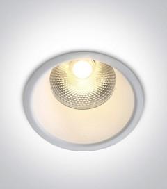 Faretto LED da Incasso recesso Bianco - 15W - Bianco Caldo 3000K