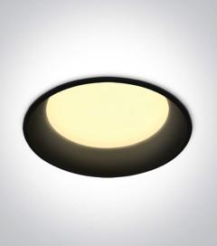 Faretto LED da Incasso recesso Nero - 22W - Bianco Naturale 4000K