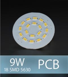 Scheda PCB 18 LED SMD 5630 SAMSUNG - Bianco Freddo