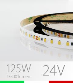 """Striscia LED 2835 """"PRO"""" - 5 Metri - 125W - SMD2835 - 120 LED/m - per Cornici Eleni"""