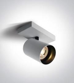 Faretto Orientabile a Soffitto con attacco GU10 - Colore Bianco
