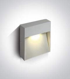 Lampada LED Segnapasso Small da esterno 9W - Bianco - Bianco Caldo - IP54