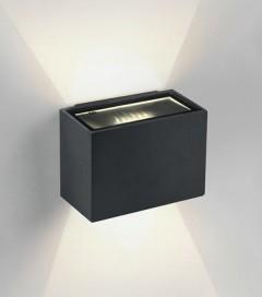 Lampada LED da esterno 6W - Antracite - Bianco Caldo - IP54