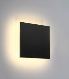 Lampada LED da esterno Linea Eclipse Quadrata 7W - Antracite - Bianco Caldo - IP54
