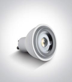 Faretto LED GU10 6W - Bianco CALDO