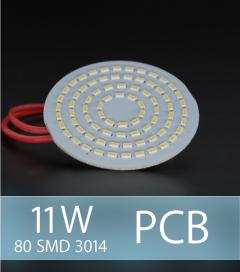 Scheda PCB 80 LED SMD 3014 - Bianco Freddo