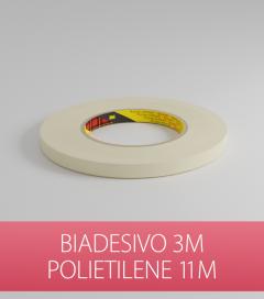 Biadesivo Polietilene 3M 9508W Acrilico Colore Bianco - Rotolo da 11m