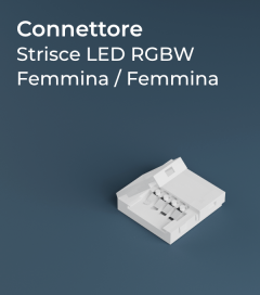 Connettore Strisce LED RGBW Rapido