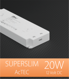 Alimentatore ACTEC ULTRATHIN  - 12V - 20W