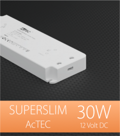 Alimentatore ACTEC ULTRATHIN - 12V - 30W
