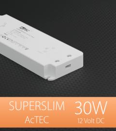 Alimentatore ACTEC ULTRATHIN - 12V - 30W