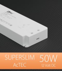 Alimentatore ACTEC ULTRATHIN - 12V - 50W