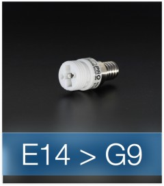 Adattatore da E14 a G9
