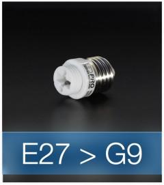 Adattatore da E27 a G9