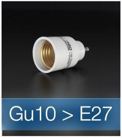 Adattatore da GU10 a E27