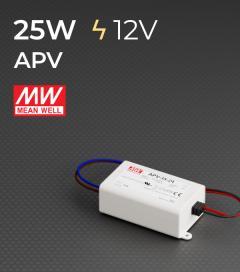 Alimentatore Meanwell APV-25-12  - 12V - 25W
