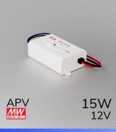 Alimentatore Meanwell APV-16-12 - 12V - 15W