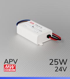 Alimentatore Meanwell APV-25-24  - 24V - 25W