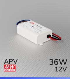 Alimentatore Meanwell APV-35-12  - 12V - 36W
