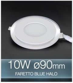 Faretto da Incasso Tondo 10W BLUE HALO BIANCO FREDDO (Lampada Downlight)