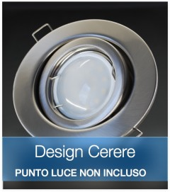 Corpo Faretto Satinato DESIGN CERERE