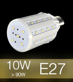Lampadina LED CORN 10W E27 (90W) -  Bianco Caldo