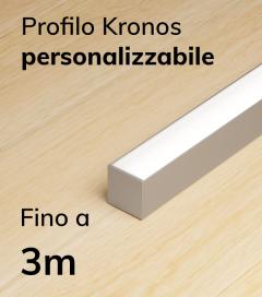 Lampada LED completa KRONOS da Soffitto e a Sospensione - Da 250cm a 300cm - Personalizzabile - Dimmerabile