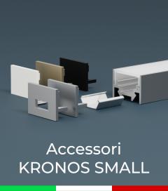 """Accessori per Profilo in Alluminio """"Kronos Small"""""""