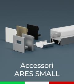 """Accessori per Profilo in Alluminio """"Ares Small"""""""