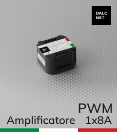 Dalcnet DLA-1248-1CV-BOOSTER- 12V/24V/48V - Amplificatore D-PWM