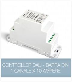 Controller DALI 10A - Dimmer strisce LED - DIN