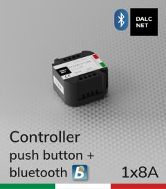 Dimmer DALCNET DLB1248-1CV-BLE controllo a pulsante e Smartphone