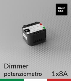 Dimmer DALCNET  - 12V/24V  a Potenziometro