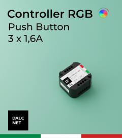Controller DALCNET - DLC1248-3CV-RGB - 3 Canali  - 12/48V