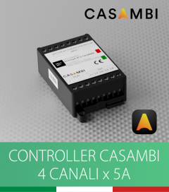 Dimmer DALCNET DLX1224-4CV-CASAMBI - 12V/24V