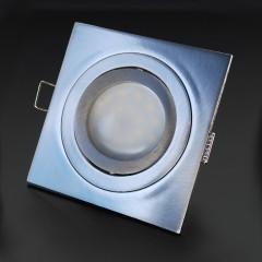 Corpo Faretto Satinato con Faretto LED GU10 5W - Design VENERE