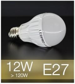 Lampadina LED  E27 12W Globe - Bianco CALDO