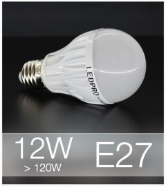 Lampadina LED  E27 12W Globe - Bianco NATURALE