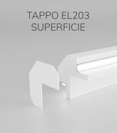 Tappo per Cornice da Interno ELENI modello EL203