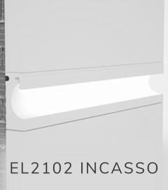 Cornice per LED da Esterno ELENI LIGHTING EL2102 - Taglio di Luce ad Incasso